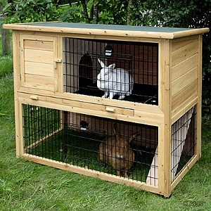 Outdoor Rabbit Hutch Kerbl Classic