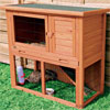 Rabbit Hutch Trixie Natura Single with Rabbit Run Medium